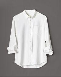 Billy Reid - 1 Pkt Selvedge Shirt - Lyst
