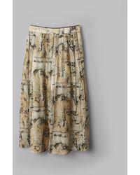 Billy Reid - Marble Gatsby Skirt - Lyst
