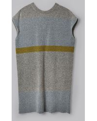 Billy Reid - Colour Block Jumper Dress - Lyst