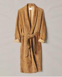 Billy Reid - Raw Cut Robe Coat - Lyst