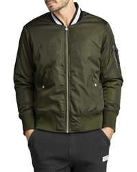 Björn Borg CENTRE BOMBER JACKET Forest Night - Grün