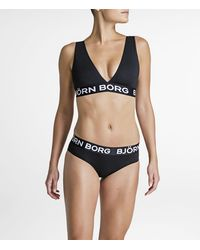 Björn Borg Solid Cheeky Black Beauty - Zwart