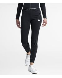 Björn Borg Shawna Pants Black Beauty - Zwart