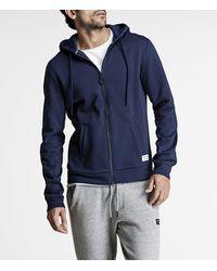 Björn Borg Centre Hoodie Jacket Peacoat - Blauw