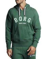 Björn Borg Borg Sport Hood Evergreen - Groen