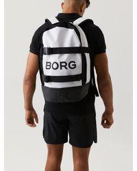 Björn Borg Borg Backpack 35l White - Zwart