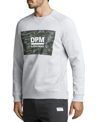 Björn Borg Dpm Crew H108by Light Grey Melange - Grijs