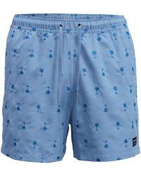 Björn Borg Santiago Swim Shorts Placid Blue - Blauw