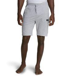 Björn Borg Solid Soran Pyjama Shorts Grey Melange H120ab - Grijs