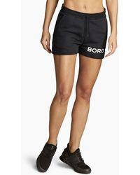 Björn Borg B Sport Shorts Black Beauty - Zwart