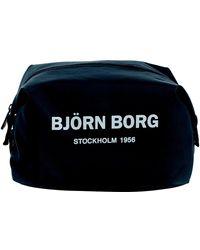 Björn Borg Greta Toilet Case Black - Zwart