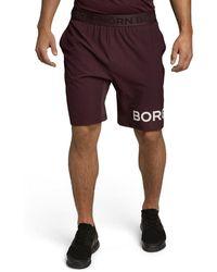 Björn Borg Borg Shorts Winetasting - Rood