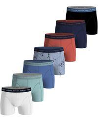 Björn Borg Sailaway Essential Shorts 7-pack Ultramarine - Blauw