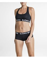 Björn Borg - Solid Minishorts Black Beauty - Lyst