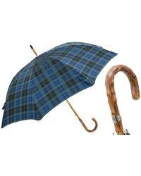 Black.co.uk Black Watch Tartan Luxury Umbrella - Blue