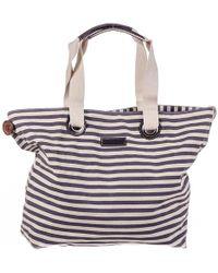 Black.co.uk - Antibes Cotton Beach Bag - Lyst