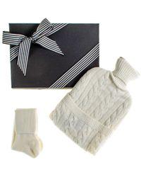 Black.co.uk - Grey Hottie And Grey Cashmere Socks Gift Set - Lyst