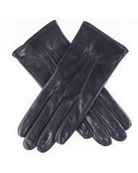 Black.co.uk Ladies' Silk Lined Black Leather Gloves