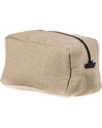 Black.co.uk Men's Travel Linen Toiletry Bag - Multicolor