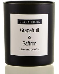 Black - Grapefruit And Saffron Scented Candle - Glass - Lyst