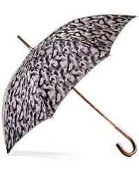 Black.co.uk Grey Camouflage Luxury Umbrella - Gray