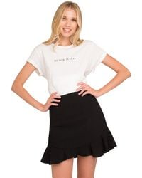 Black Halo Abra Skirt - Black