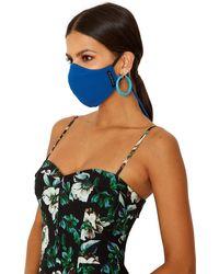 Black Halo Facial Covering - Final Sale - Blue