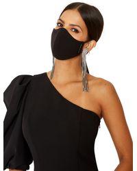 Black Halo Facial Covering *final Sale - Black