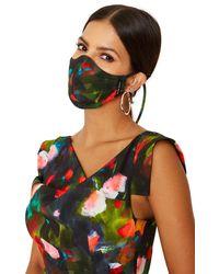 Black Halo Facial Covering *final Sale - Multicolour