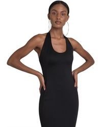 Black Halo Naples Gown - Black