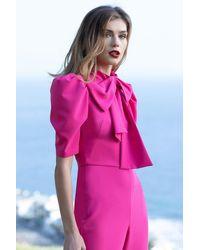 Black Halo Ara Jumpsuit - Pink