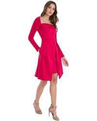 Black Halo Lovelei Cocktail Dress - Pink