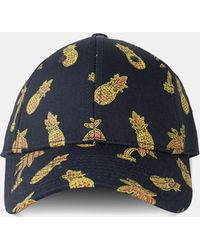 Wesc - Holiday Pineapple_pineapple Navy - Lyst