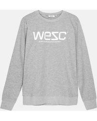 Wesc - Sweatshirt_grey Melange - Lyst