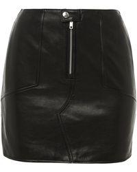 BLK DNM - Leather Skirt 21 Black - Lyst