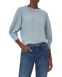 Equipment Kristine Knit Pullover Jumper - Blue