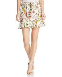 Parker - Lieanna Floral Skirt - Lyst