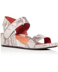Gentle Souls by Kenneth Cole Gisele Slingback Wedge Sandals - Multicolour