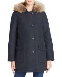 Woolrich - Parka - Arctic Fur Trim - Lyst