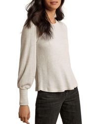 Velvet By Graham & Spencer Gia Bishop - Sleeve Jumper - Multicolour