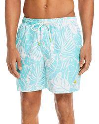 Tommy Bahama Naples Costa Blanca Swim Trunks - Blue