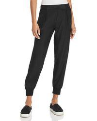 ATM Silk Jogger Trousers - Black