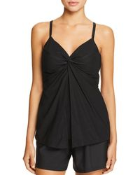 Miraclesuit - Four Tops Love Knot Tankini Top - Lyst