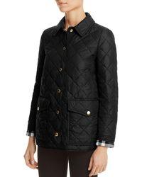 Burberry - Westbridge Quilted Jacket - Lyst