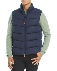 Save The Duck Sealy Puffer Vest - Blue