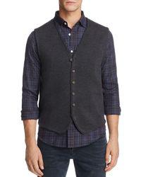 Bloomingdale's Merino Wool Vest - Gray