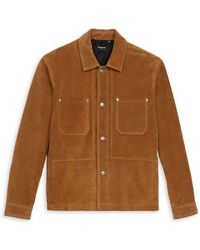 The Kooples Leather Jacket - Brown
