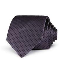 Armani Emporio Dot Pattern Classic Tie - Multicolor