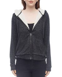 B Collection By Bobeau - Remington Sherpa-lined Zip Hoodie - Lyst