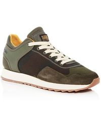 G-Star RAW G - Star Raw Men's Calow Mixed - Media Low - Top Trainers - Green